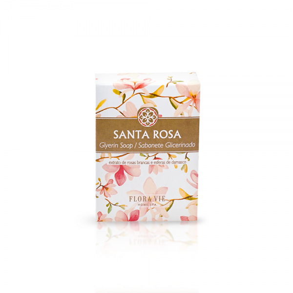 Sabonete Glicerinado 90g Santa Rosa